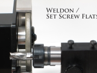 Grind Weldon Set Screw Flats with the T-ER32-TH