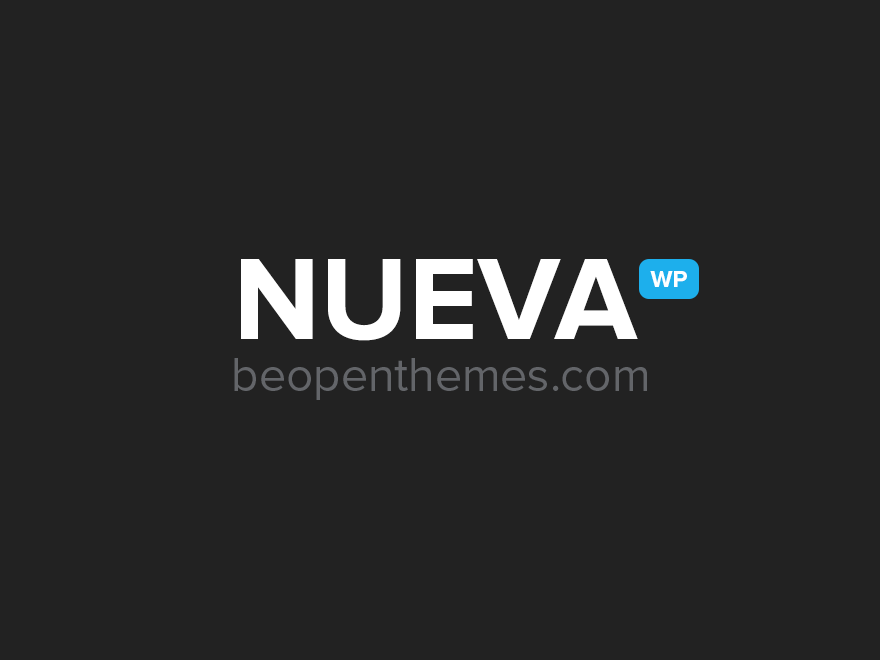 Nueva - Responsive Multi Purpose WordPress Theme