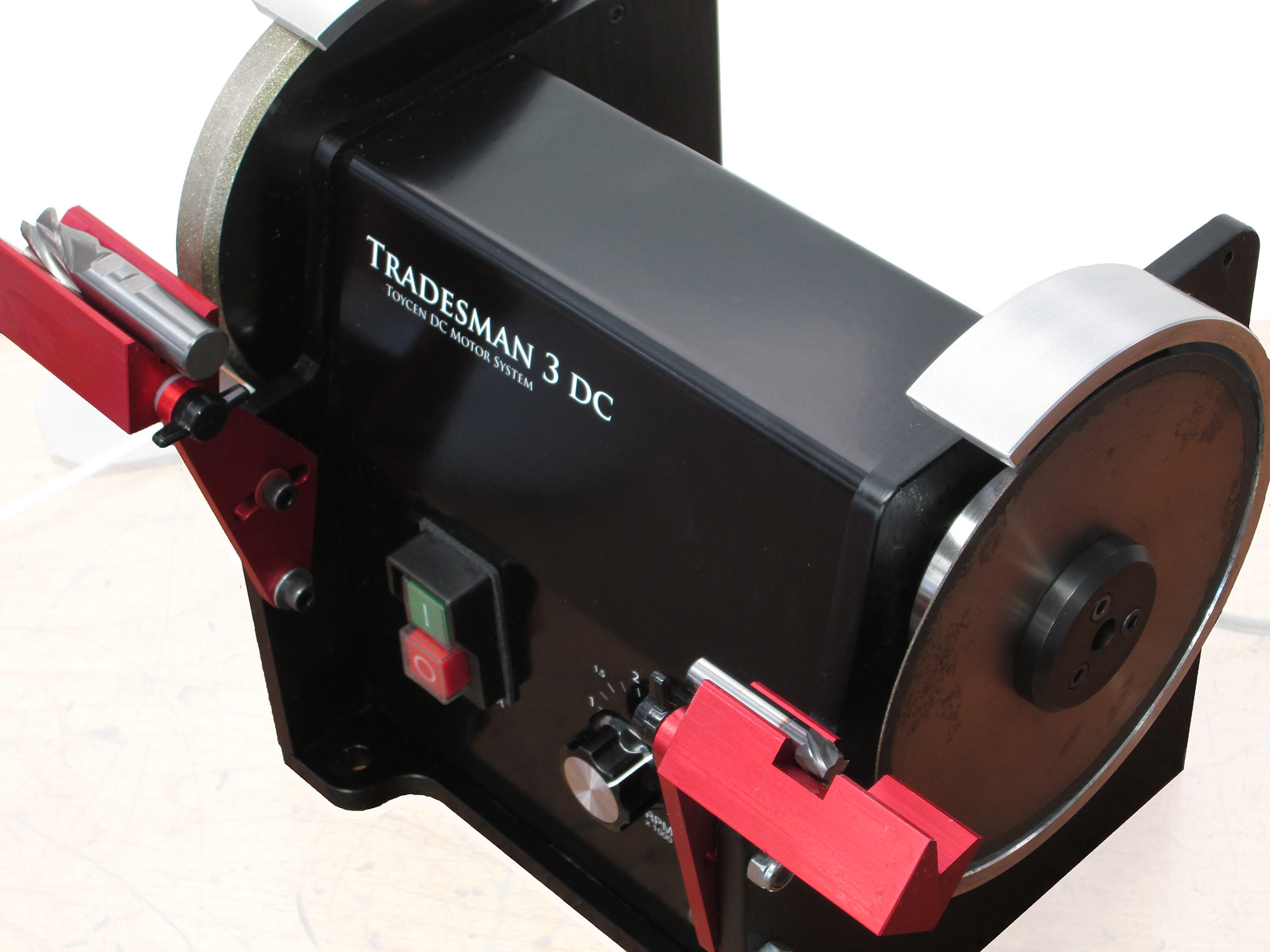 Tradesman Dc Variable Speed Reversing Bench Grinder