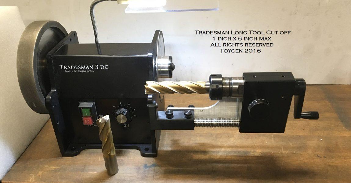 Tradesman Long Cut Front - Cut off set up