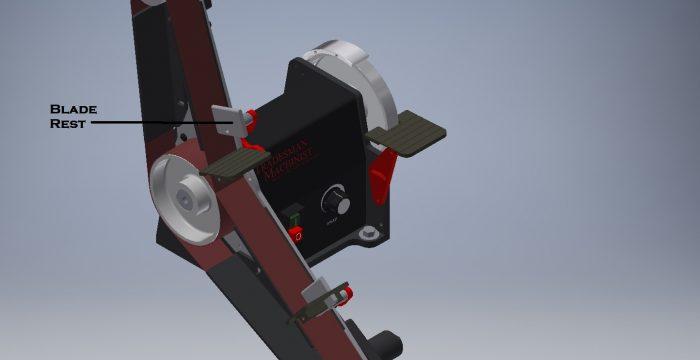Tradesman DC Variable Speed Belt Sander for 2017