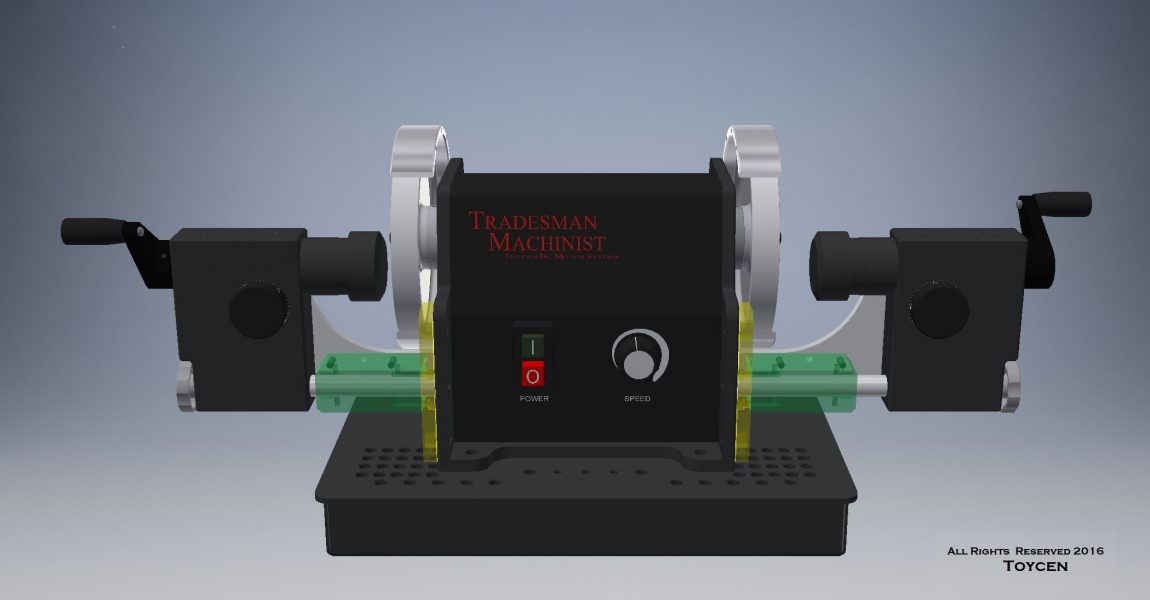 Tradesman Twin 6 DC with vacuum down draft base (pedestal or table top)