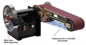 Tradesman Dc 220 Volt  4 x 48 inch Multitool with reverse