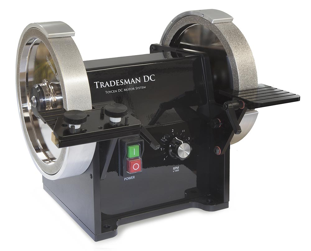 Tradesman 8 Quot Dc Variable Speed Bench Grinder With Mitre